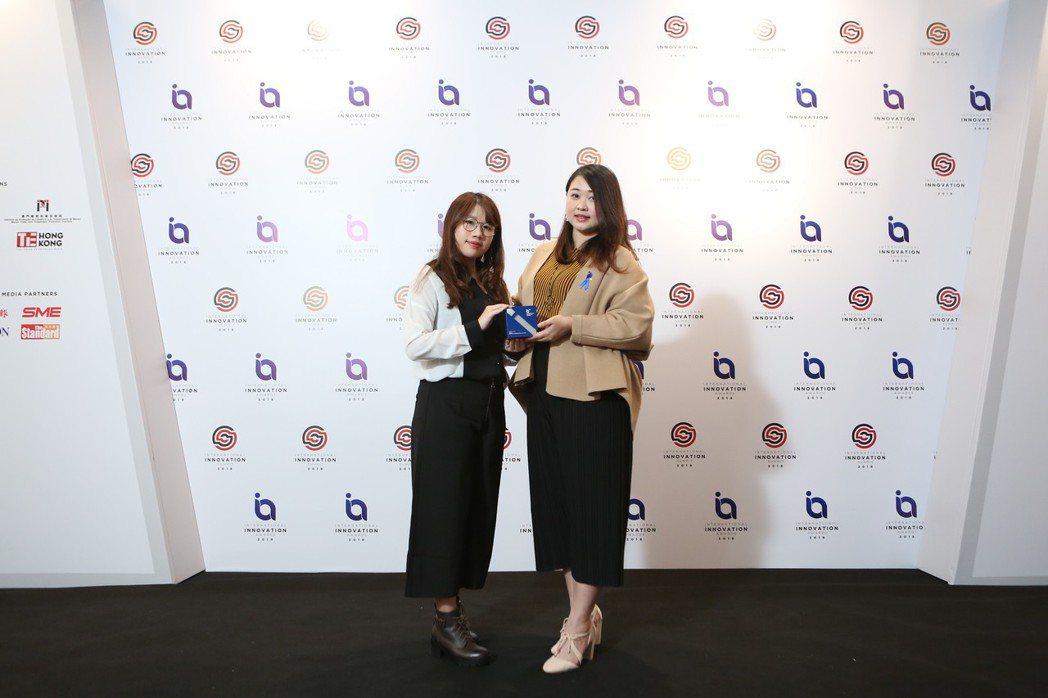 新台灣之光,國內知名企業碧波庭,其產品「內在按摩儀」榮獲國際創新獎。碧波庭/提供