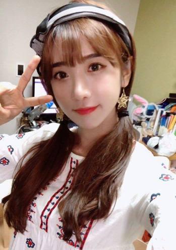 韓籍實況主「企鵝妹」將來台學中文三個月。圖擷自企鵝妹臉書