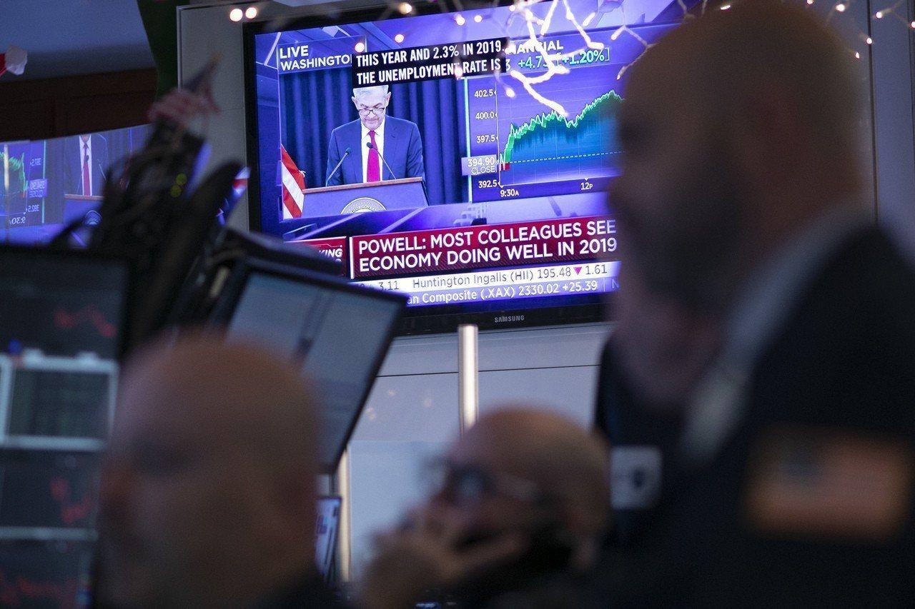美國聯邦準備理事會(Fed)聯邦公開市場委員會(FOMC)19日升息一碼。美聯社