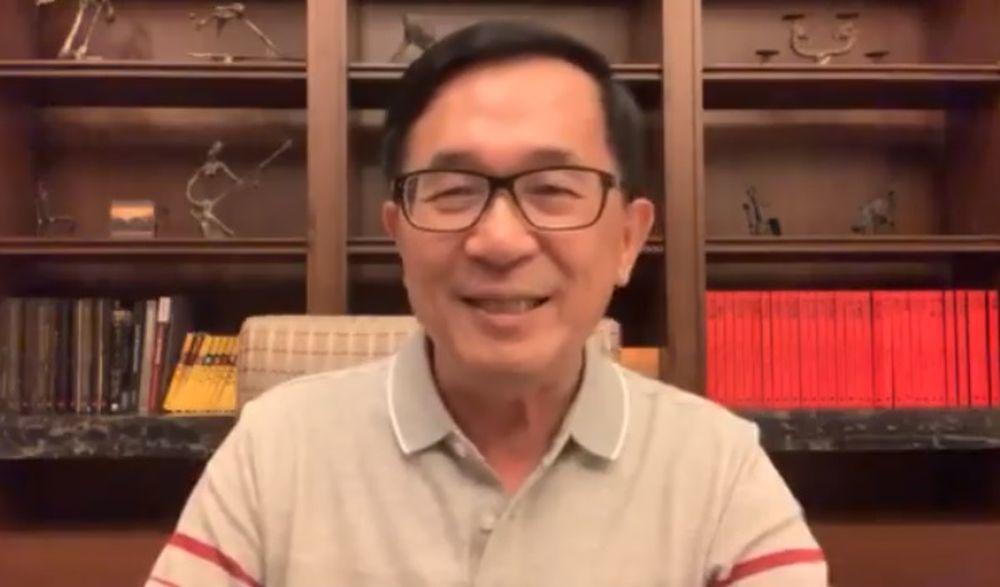 陳水扁表示,唐飛書中說是因當時民進黨祕書長吳乃仁和新潮流對唐的反台獨有意見,事實...