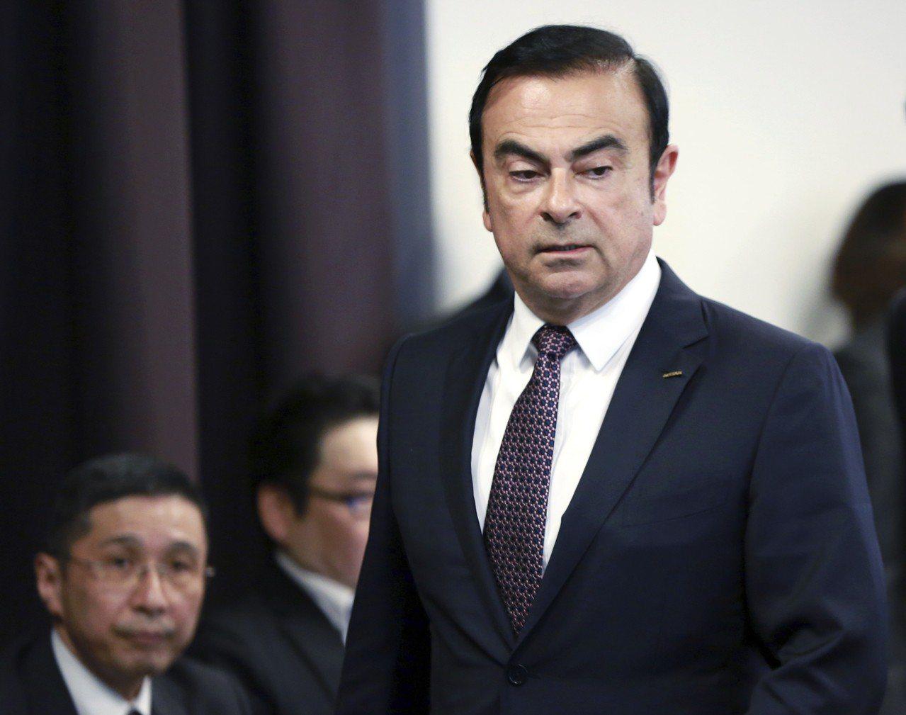 東京地檢今早以特別瀆職嫌疑,涉嫌違反公司法,再次逮捕日產汽車前董事長戈恩。美聯社
