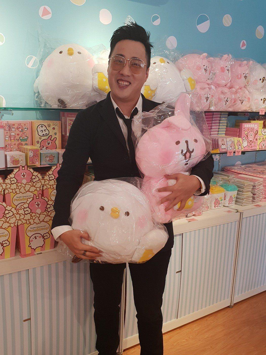 余祥銓公司代理引進卡赫娜拉快閃店。記者李姿瑩/攝影