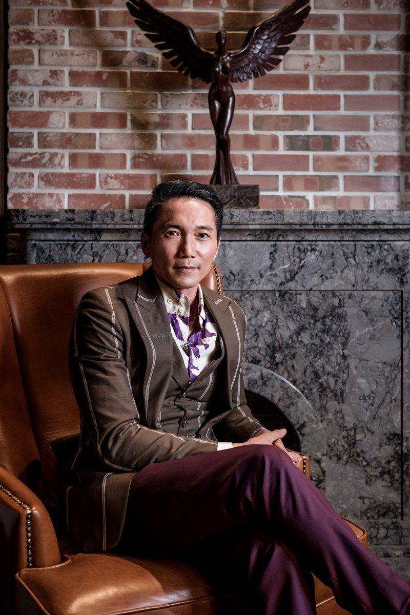 鄒兆龍來台拍攝手機遊戲廣告,身為高雄人,暢談高雄準市長韓國瑜。圖/齊石提供