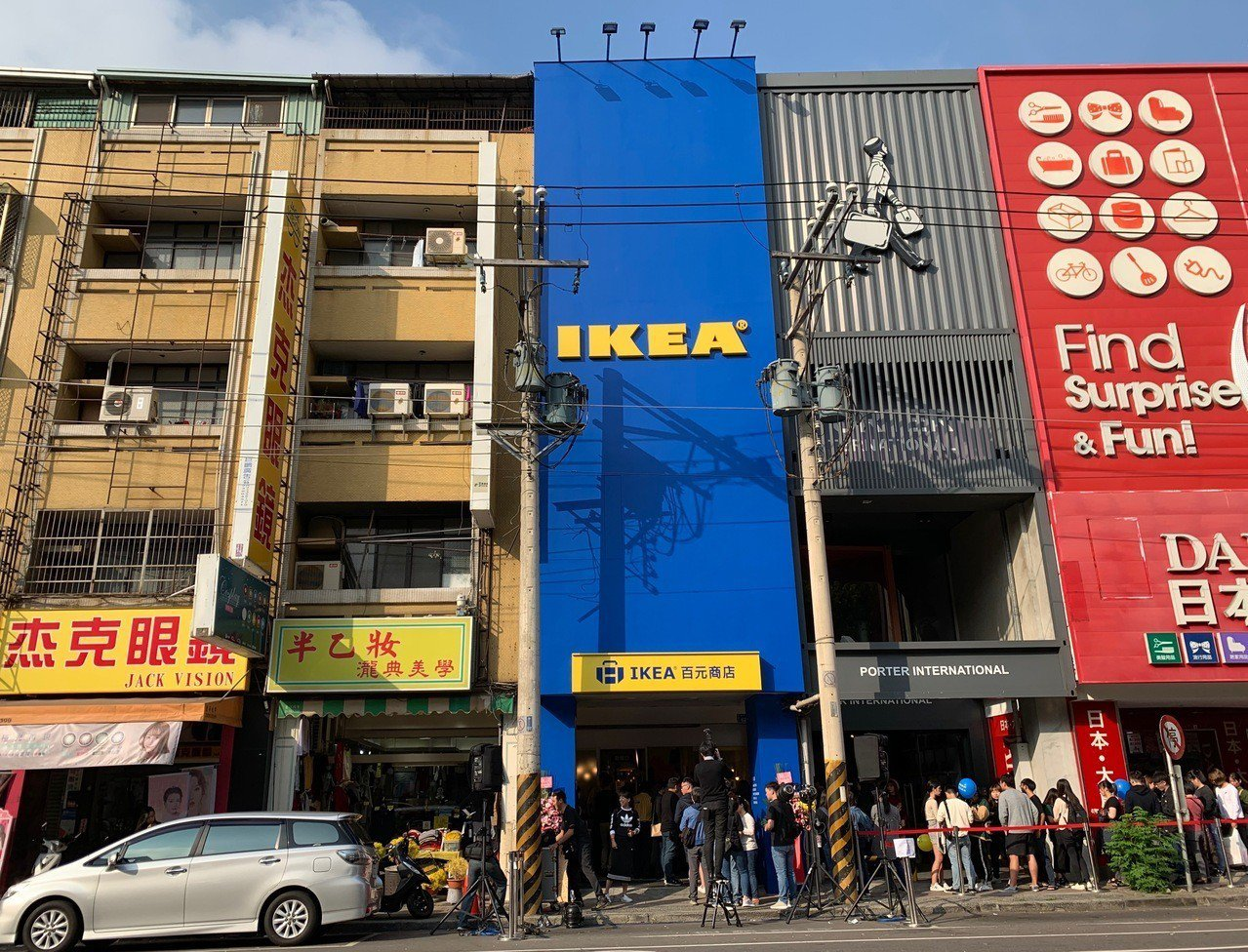 圖為IKEA逢甲店。看好台灣市場,瑞典家居品牌IKEA宜家家居今(14)日宣布擴...