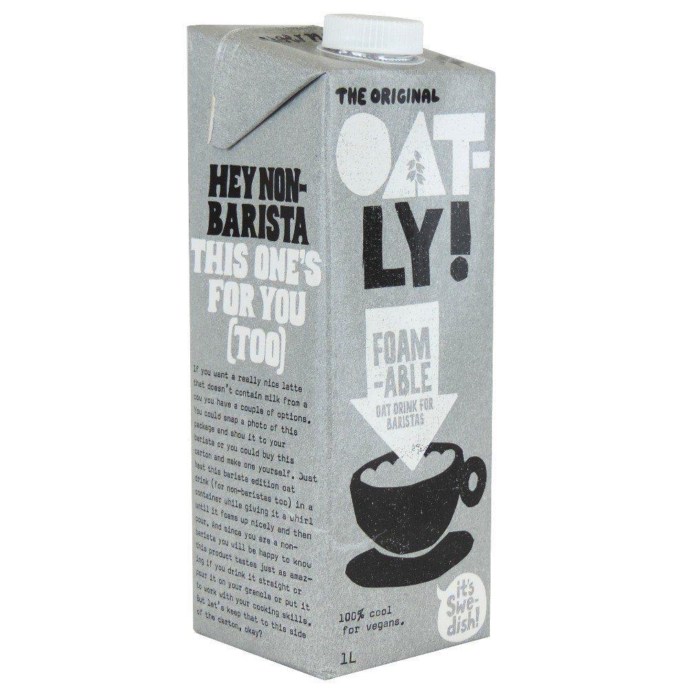 瑞典燕麥奶品牌Oatly 20日宣布,咖啡師燕麥奶賣到缺貨,下月9日限量補貨。網...