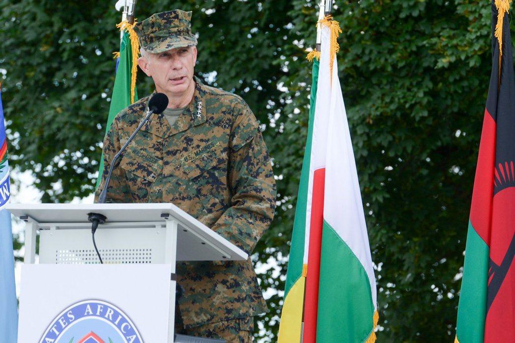 非洲司令部司令官瓦爾德豪澤。 歐新社