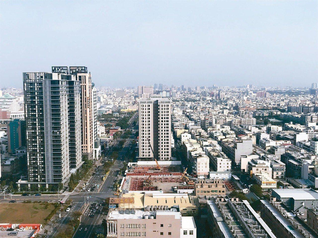 2018年台南土地價格為六都中最低,前三季土地交易件數排名六都第二。 聯合報系資...