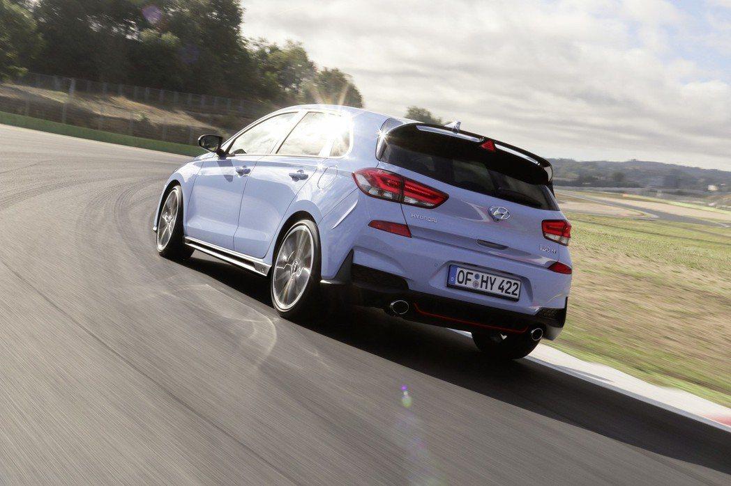 i30 N成為Hyundai N Performance首部性能車款。 摘自Hyundai