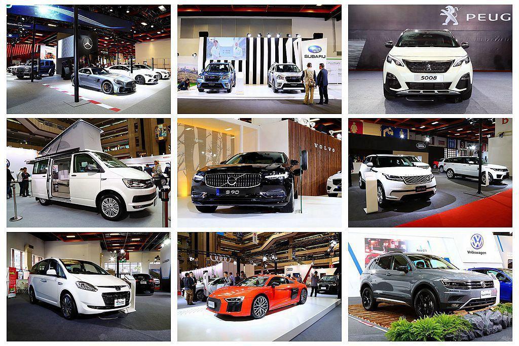 2019台北新車大展正式開幕,縱使整體規模不比兩年一度的「台北世界新車大展」,但還是有許多看頭與優惠購車方案。 記者張振群/攝影