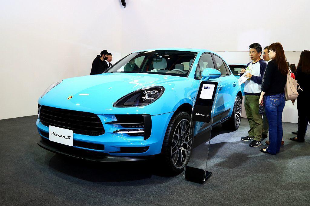 小改款保時捷Macan首度在台現身,提供VIP車主預賞外也排定明年上半年正式在台...