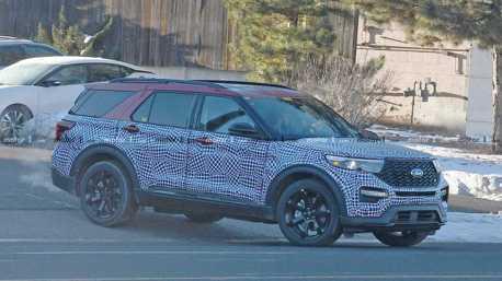 大改款Ford Explorer新增ST版本 敲定1月9日於底特律亮相