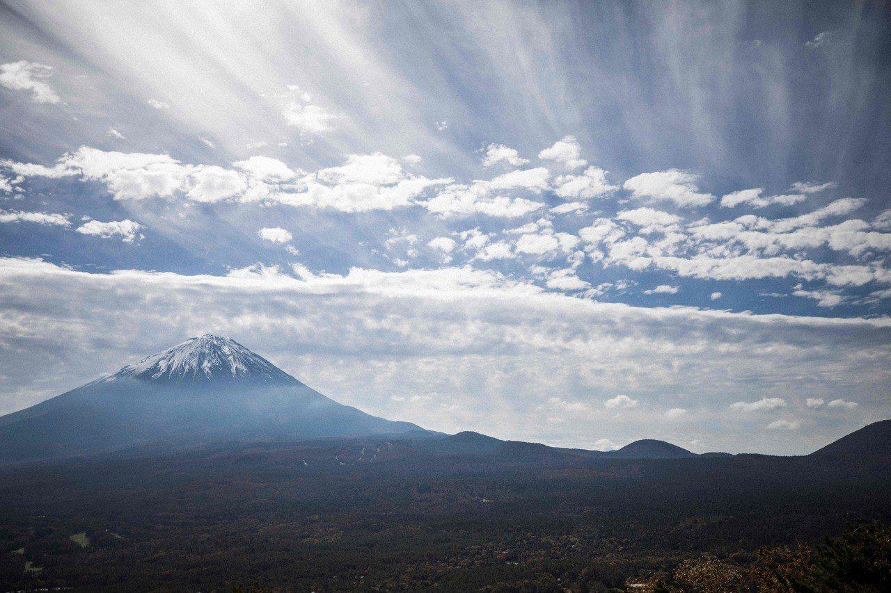 青木原樹海,又為人知為自殺森林,位於富士山的西北側。(法新社)