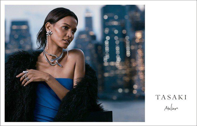 TASAKI的2019形象廣告,由衣索比亞超模Liya Kebede擔綱。圖/T...