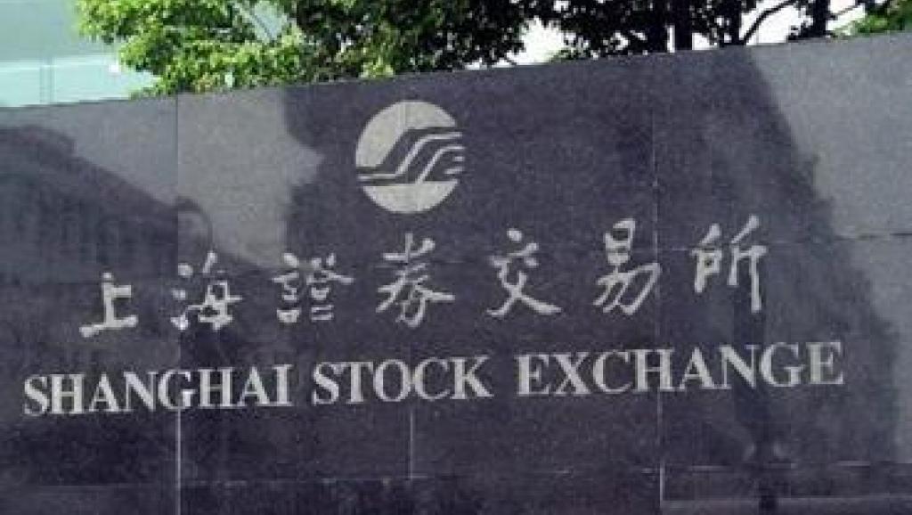 上海證券交易所。(法廣)