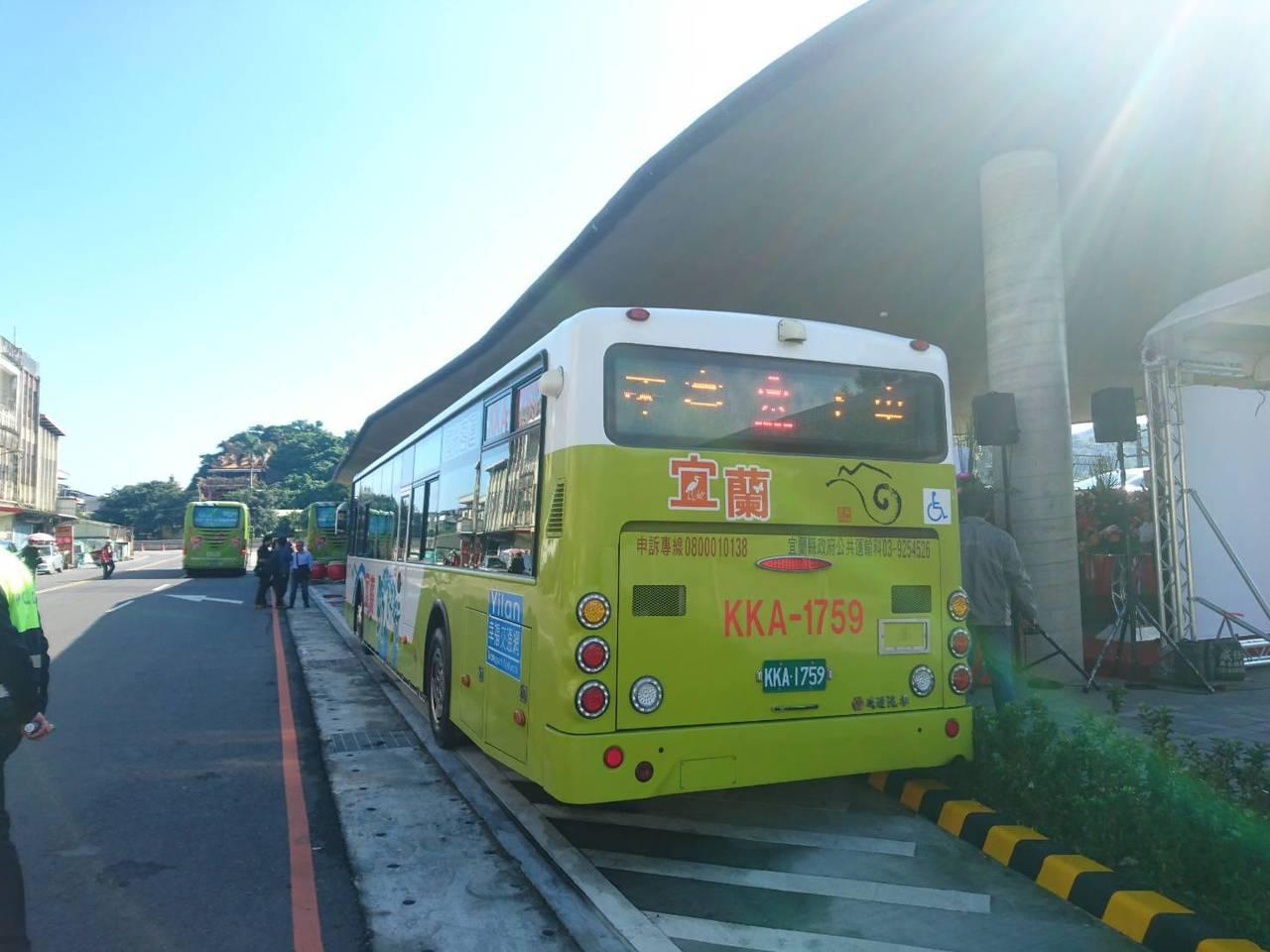 蘇澳轉運站今天啟用,往返台北與宜蘭間搭車旅遊更方便。記者羅建旺/攝影