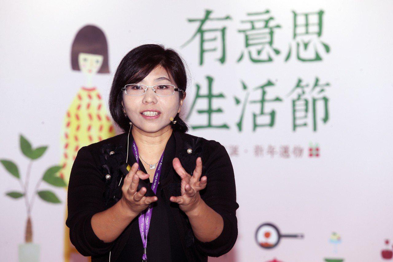 中華食源教育推廣協會發起人謝素麗(Sunny)。記者徐兆玄/攝影