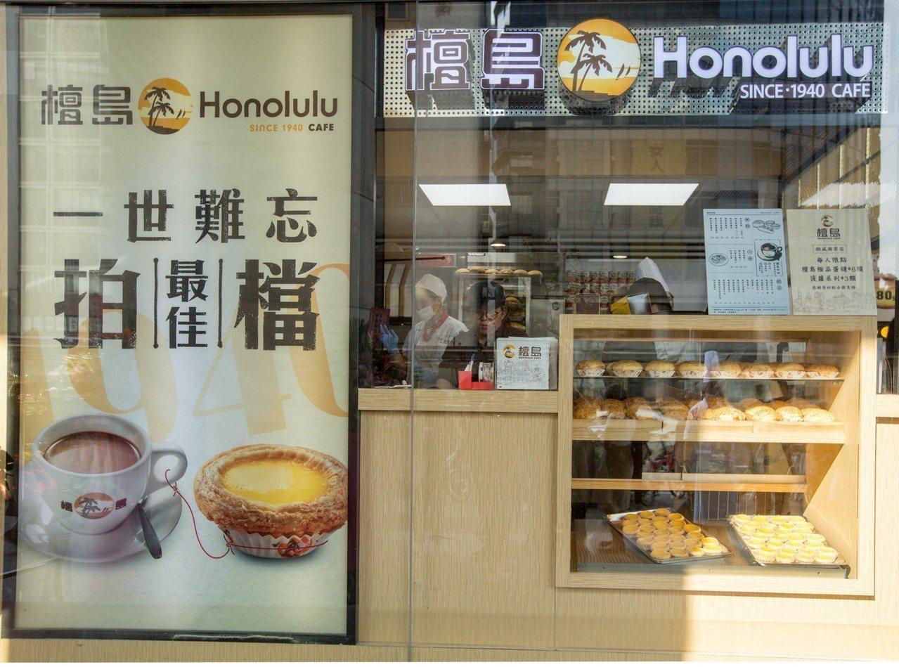 檀島咖啡搶攻微風南京外帶市場。 檀島/提供
