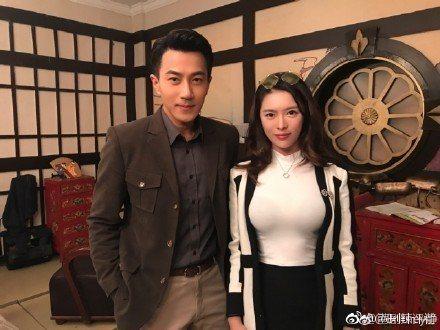 劉愷威曾與富家女合照,婚變傳聞再起。圖/摘自微博