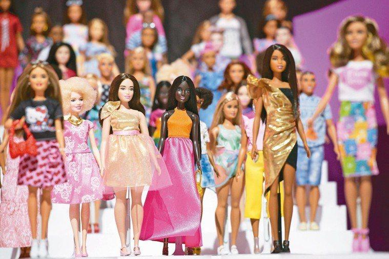 生產芭比娃娃的美泰兒公司。 (美聯社)