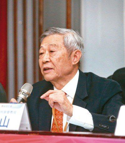 淡江大學中國大陸研究所榮譽教授趙春山昨天表示,明年將是兩岸關係關鍵年。 記者鄭清...