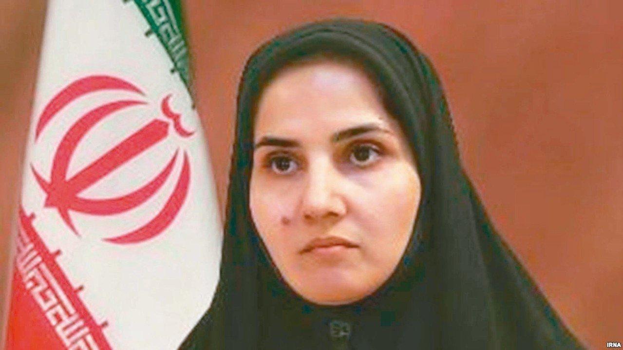伊朗女性法律學者喬內迪(Laya Joneydi)。 圖/取自伊朗政府官網