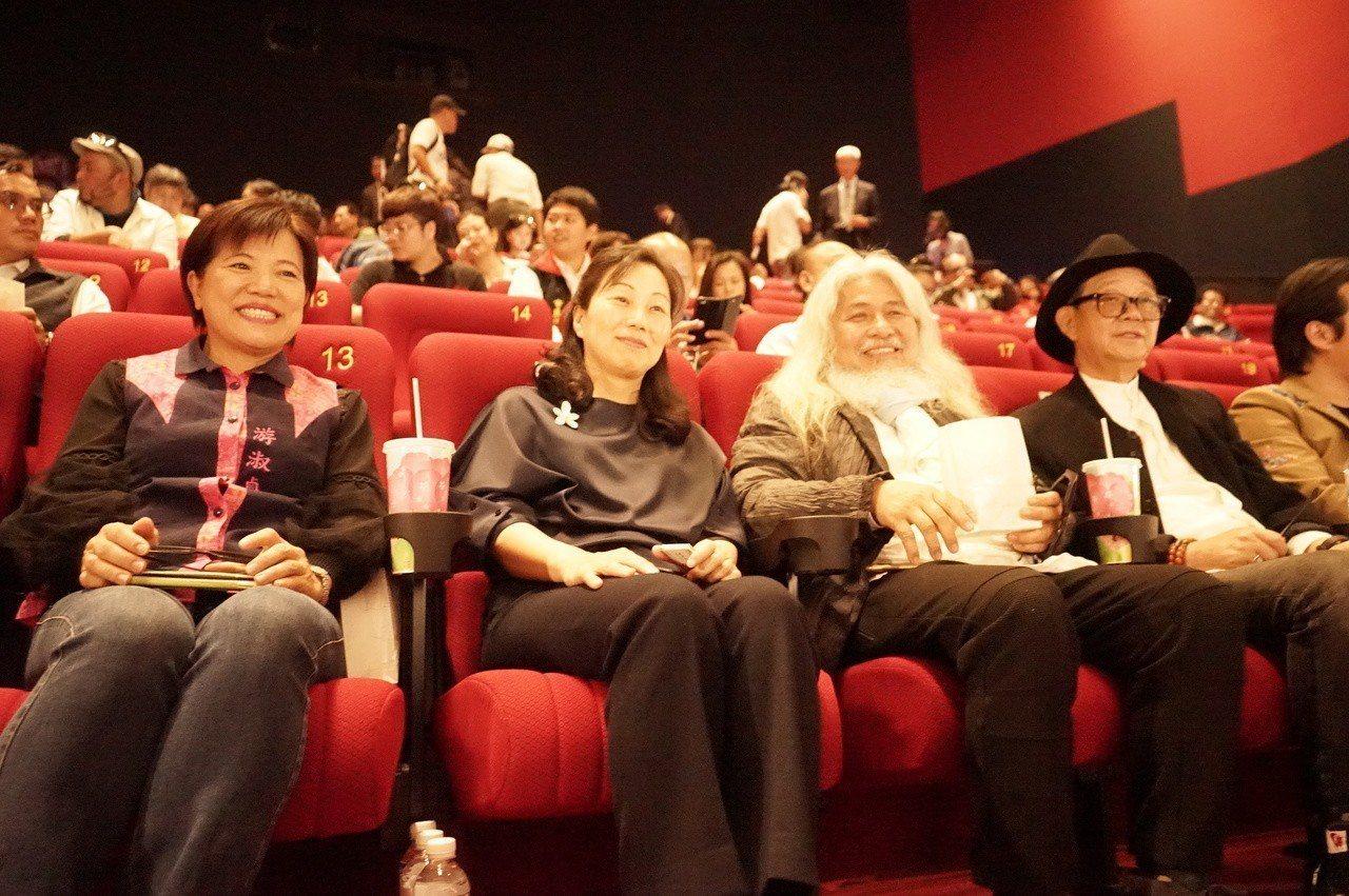 台創花蓮新天堂威秀影城有IMAX巨幕影廳,昨天亮相。記者王燕華/攝影
