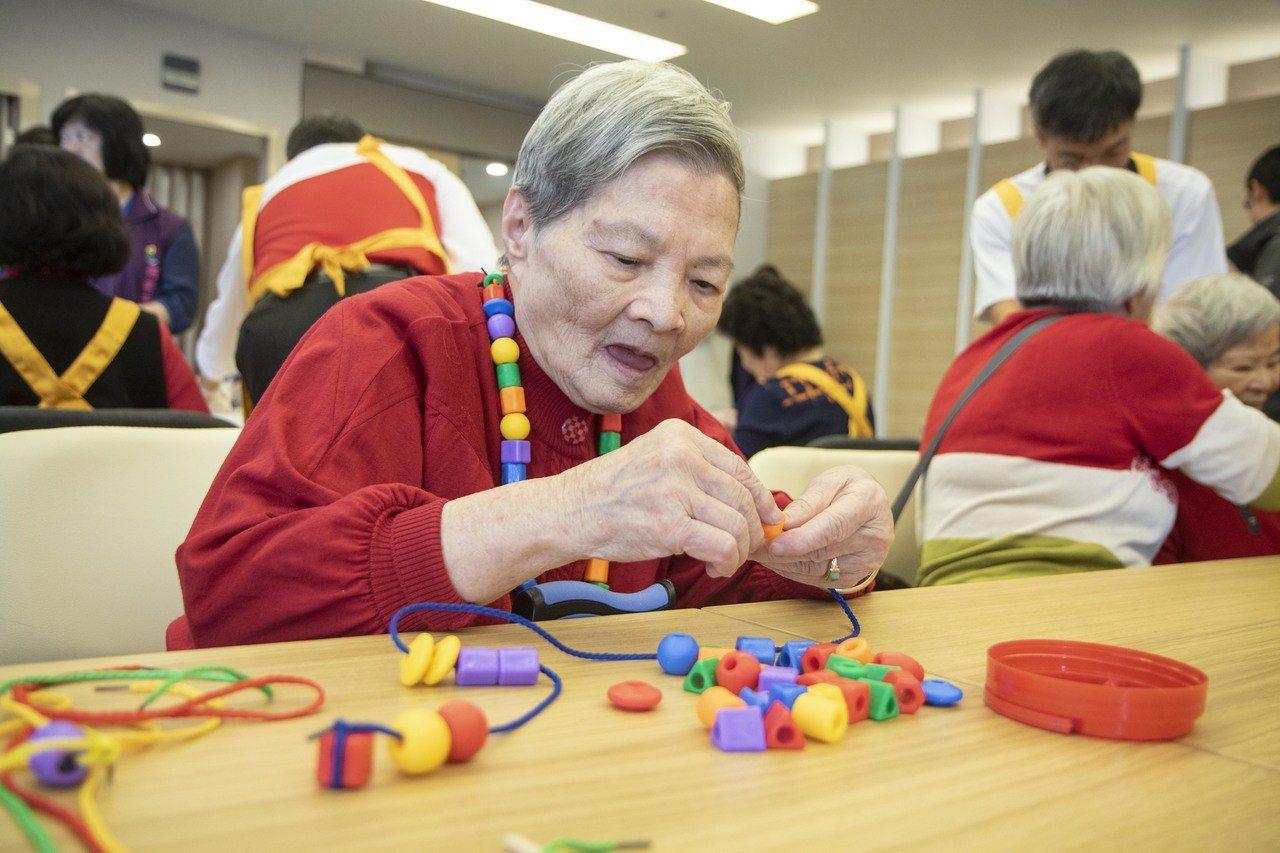 新北公共托老中心作達到40間,是提供長輩前往接受照顧的好去處。記者王敏旭/攝影