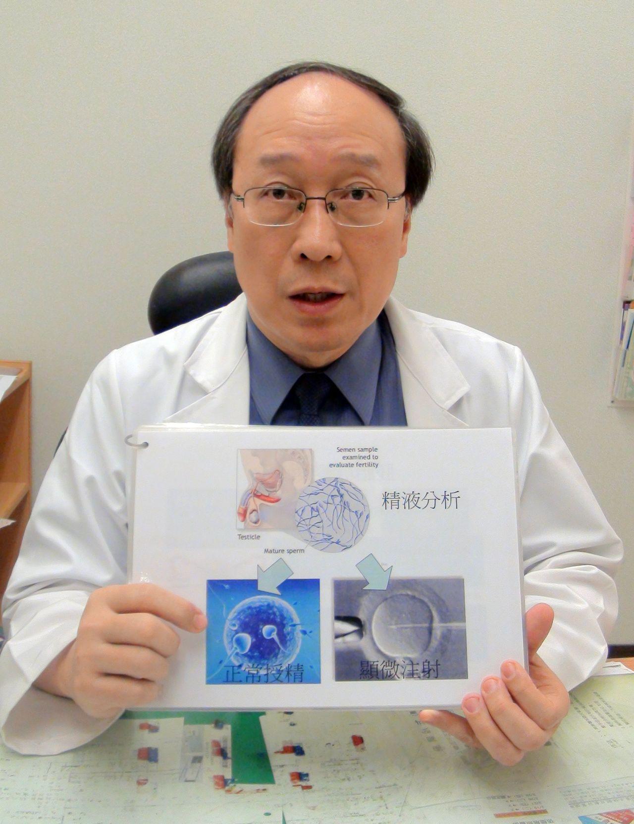 台灣生殖醫學會理事長黃富仁表示,目前不孕症患者等待捐精卵的時間平均超過兩年,有人...