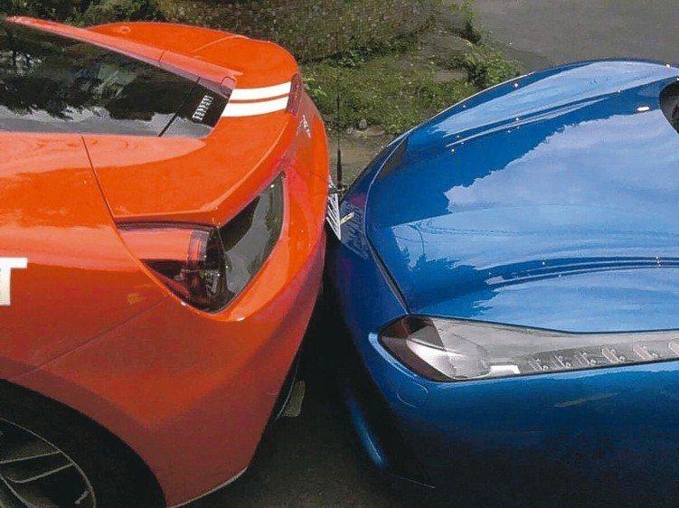 投保「第三人責任保險附加超額責任保險」,可轉嫁A到豪華汽車風險。 本報系資料庫