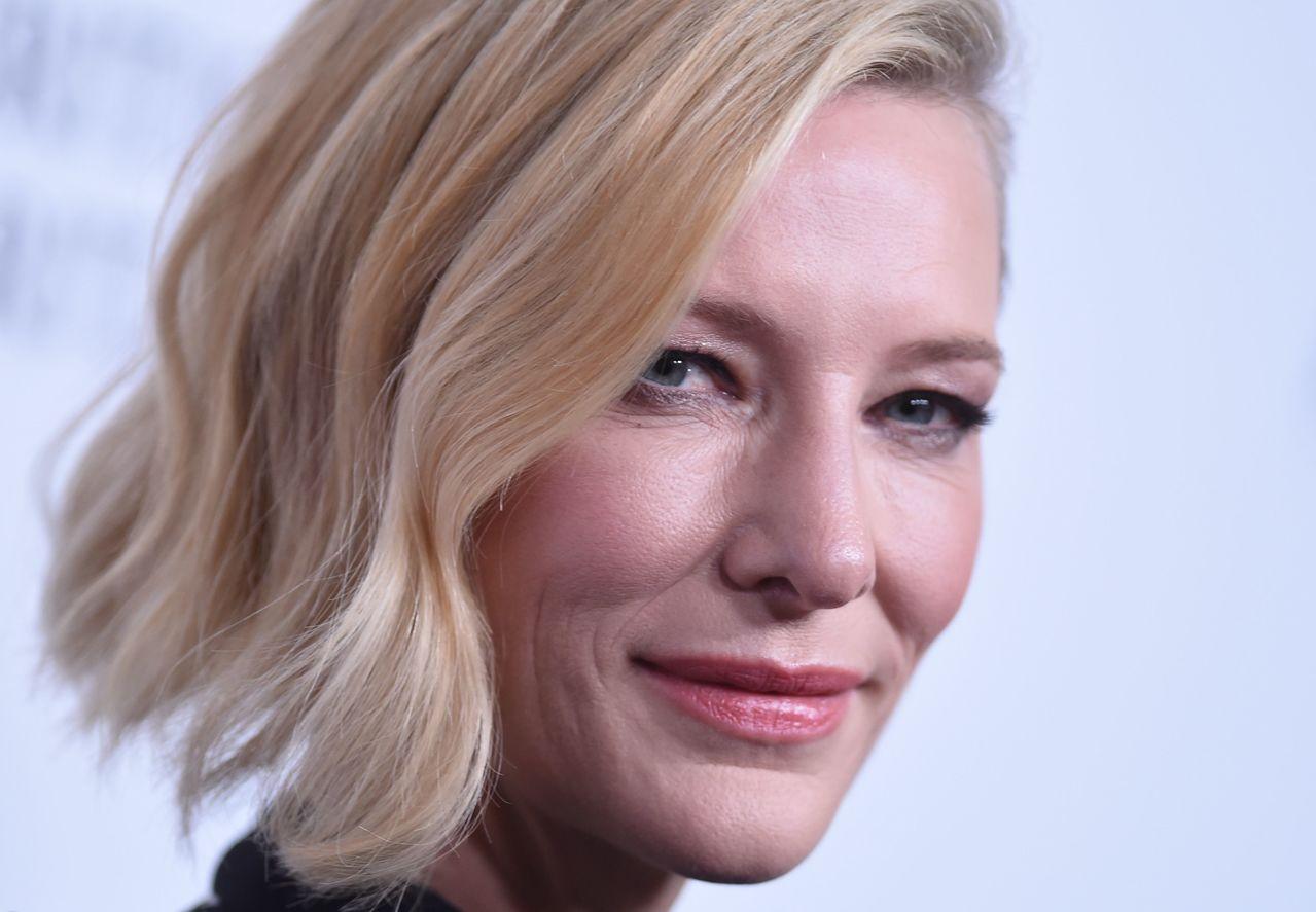 凱特布蘭琪(Cate Blanchett)。 法新社