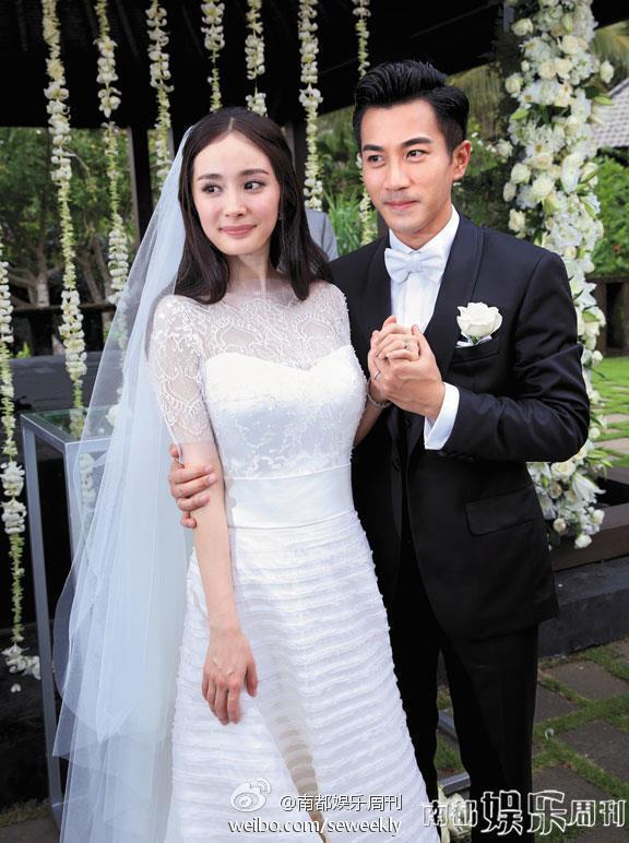 劉愷威與楊冪離婚。 圖/擷自南都娛樂周刊微博