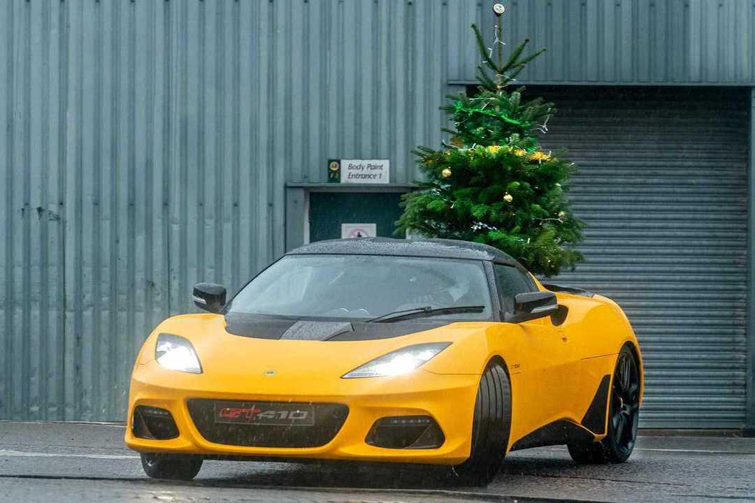 影/想來點不一樣的聖誕節嗎?Lotus告訴你Merry Driftmas!