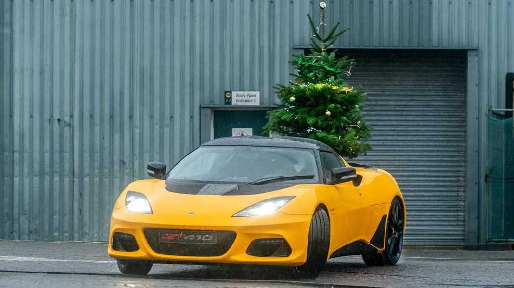 Lotus Evora GT410 Sport。 摘自Lotus