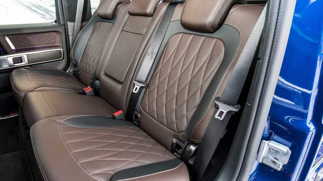 這次全新的G350 d提供相當多樣的內裝選擇。 摘自Mercedes