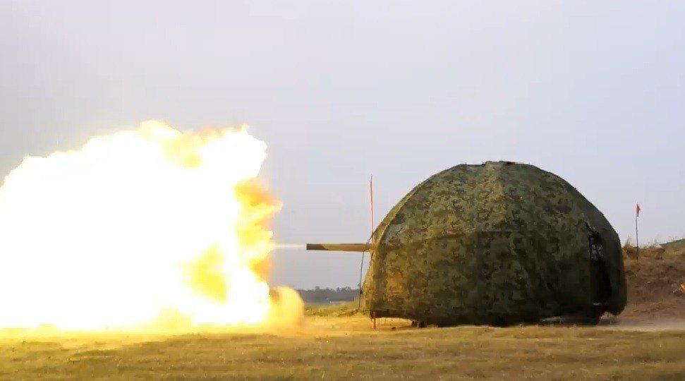 海軍陸戰隊在官方臉書粉絲頁貼出「疆固」影片,披露部隊日前實施的第4季左營港防衛作...