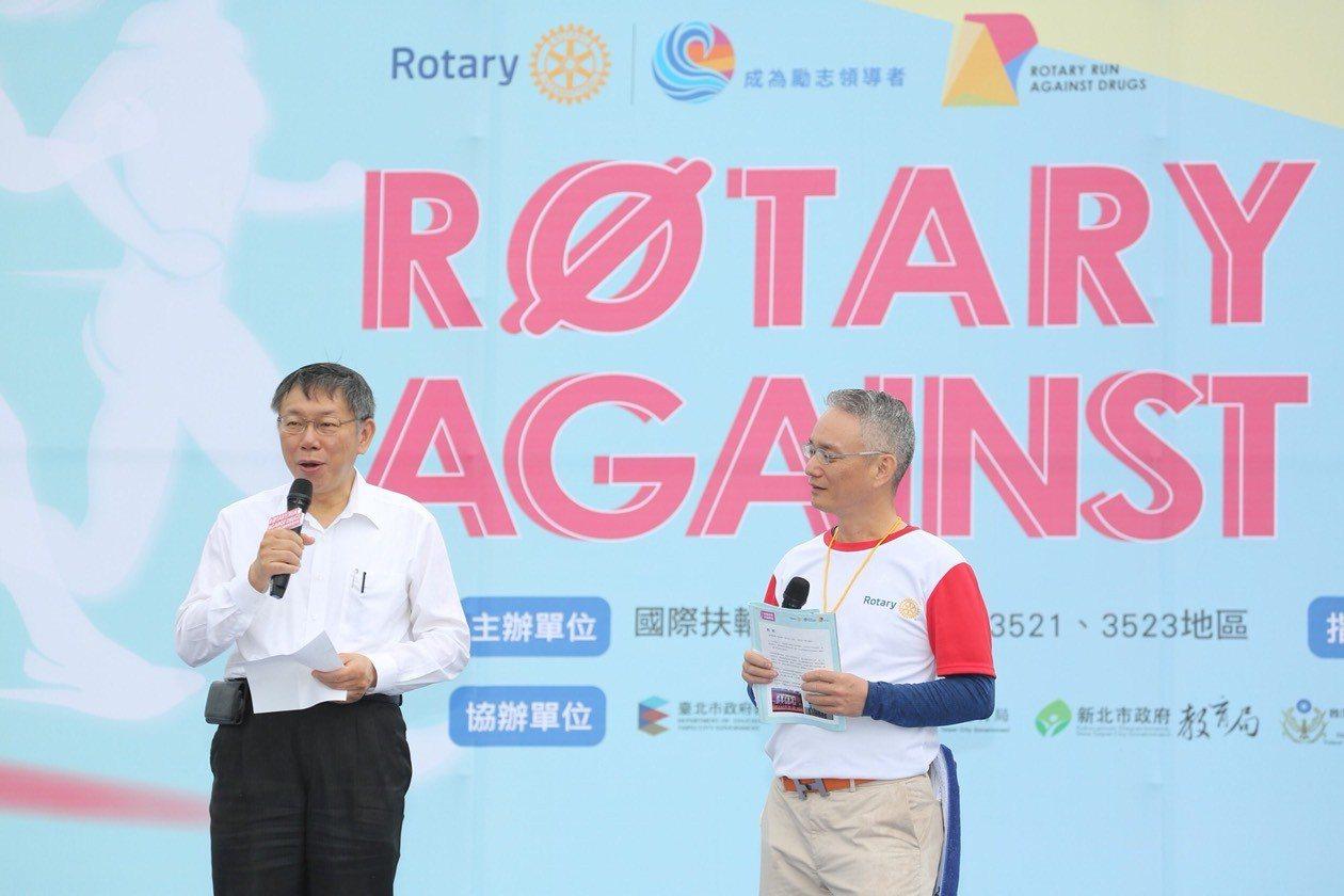對於高雄市長當選人韓國瑜說「要做到從心裡面認知」,台北市長柯文哲說,韓可以發自內...