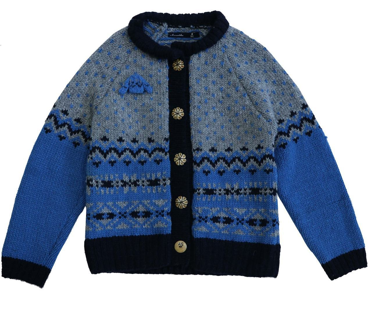 AS KNOW AS Mineme北歐毛衣,9,990元。圖/滿心提供