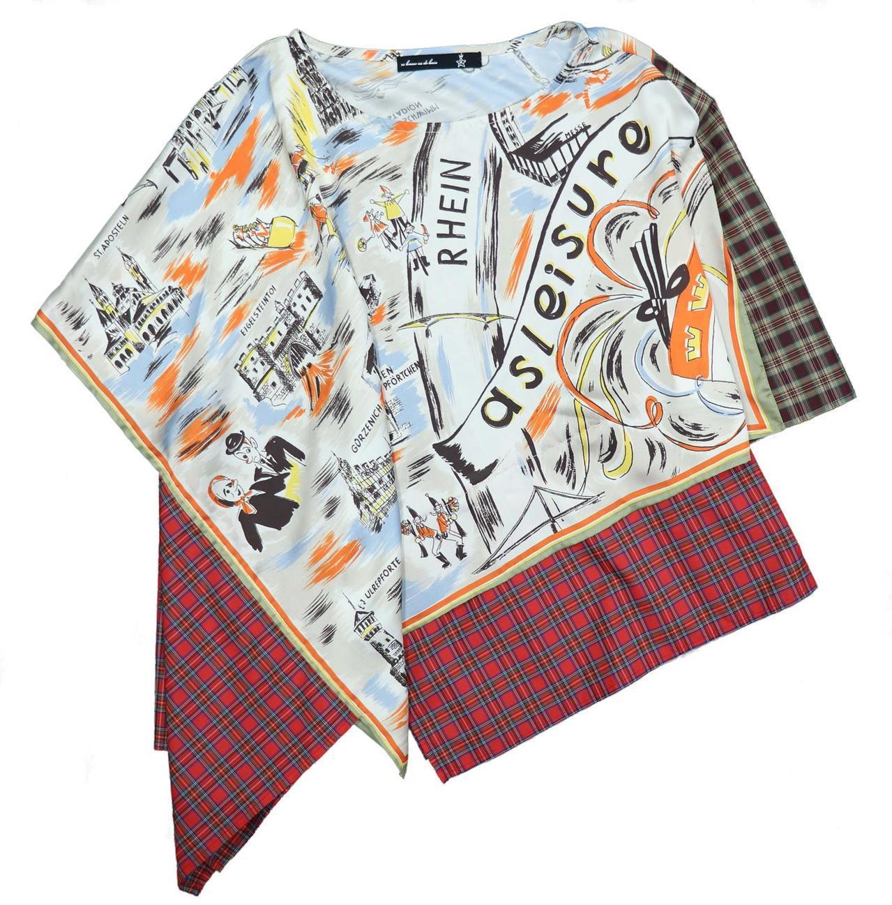 AS KNOW AS復古歐風手繪上衣,5,690元。圖/滿心提供