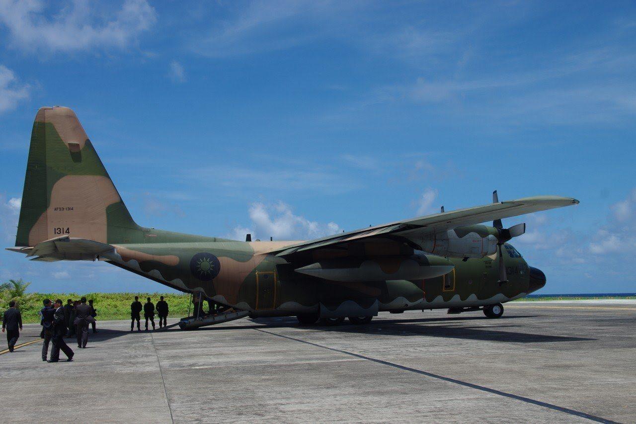 空軍C-130運輸機。圖/國防部