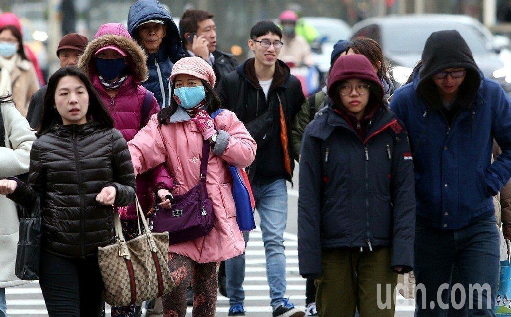27日將有一波冷空氣影響台灣。圖/本報資料照片