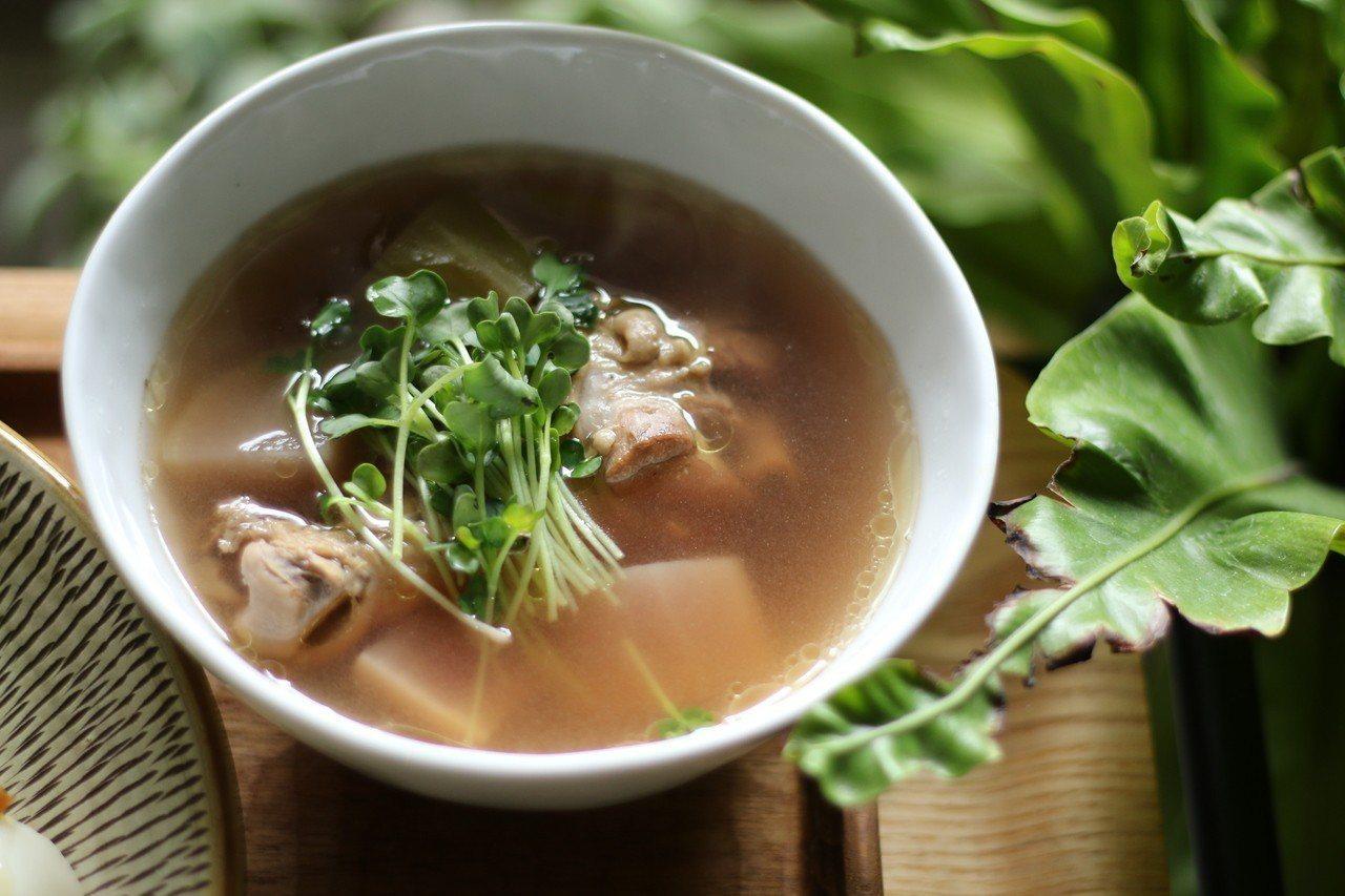 蘿蔔世代雞湯。圖/徐銘志提供