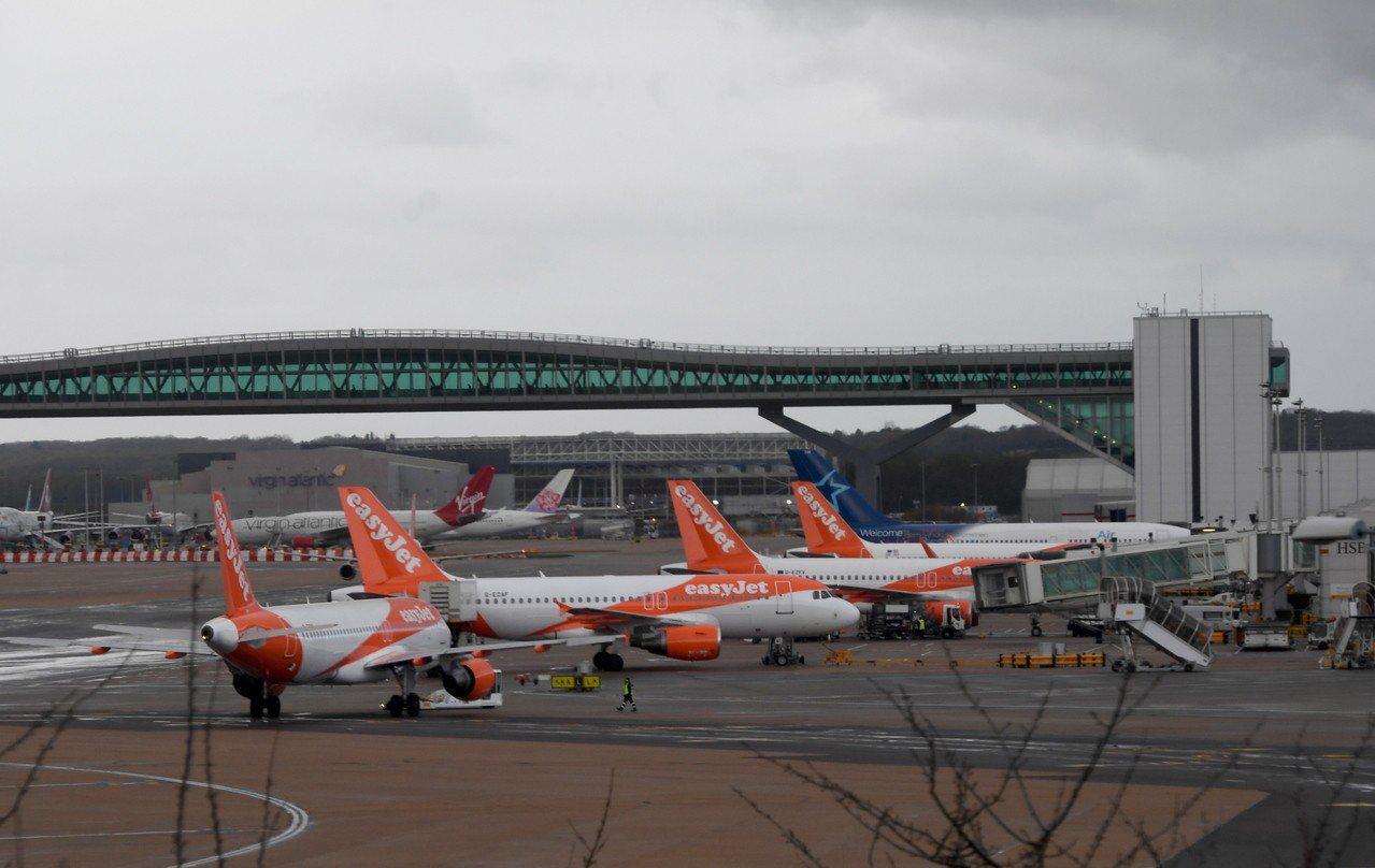 蓋維克機場23日已恢復正常運作。 歐新社