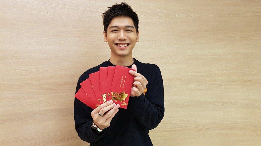 蔡旻佑擔任公益大使。圖/何樂音樂提供