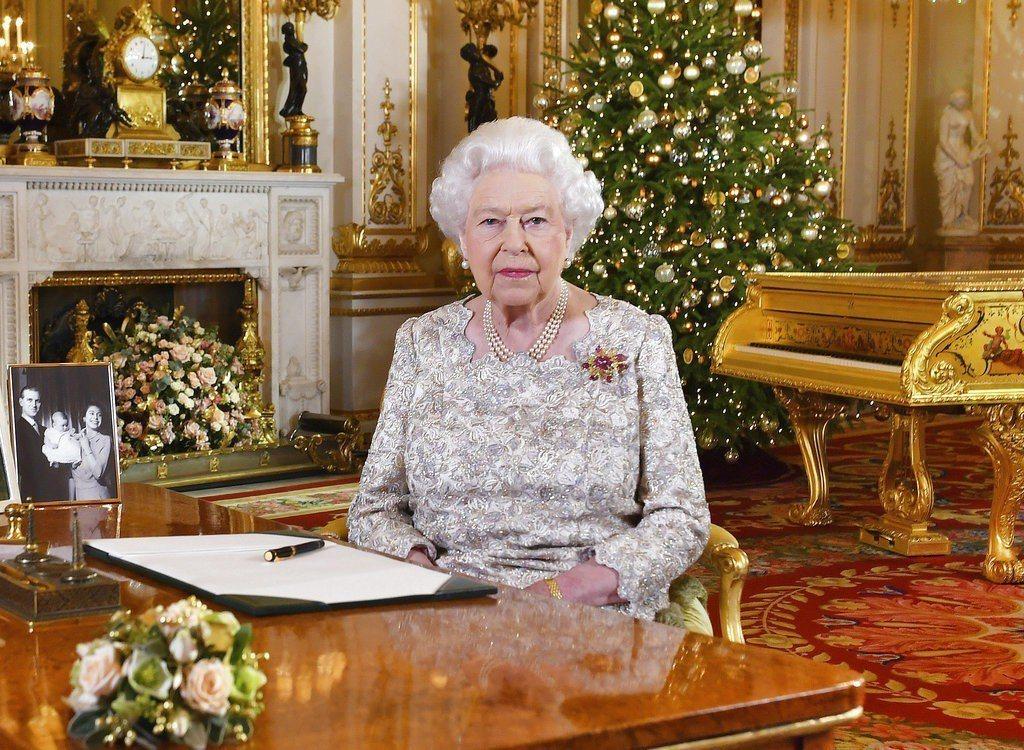 英國女王伊麗莎白二世(Queen Elizabeth II)。美聯社