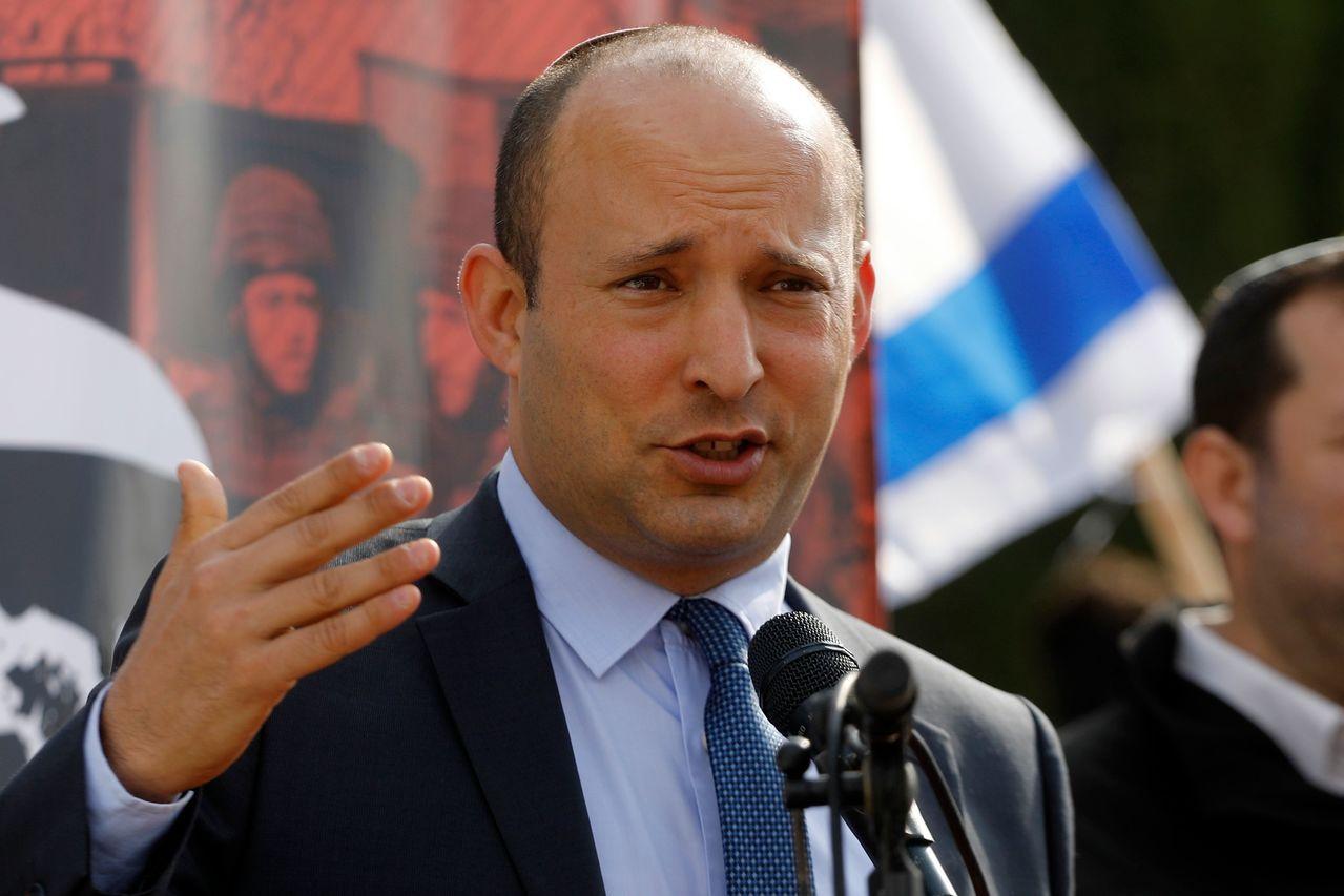 以色列教育部長班奈特(Naftali Bennett)。 法新社