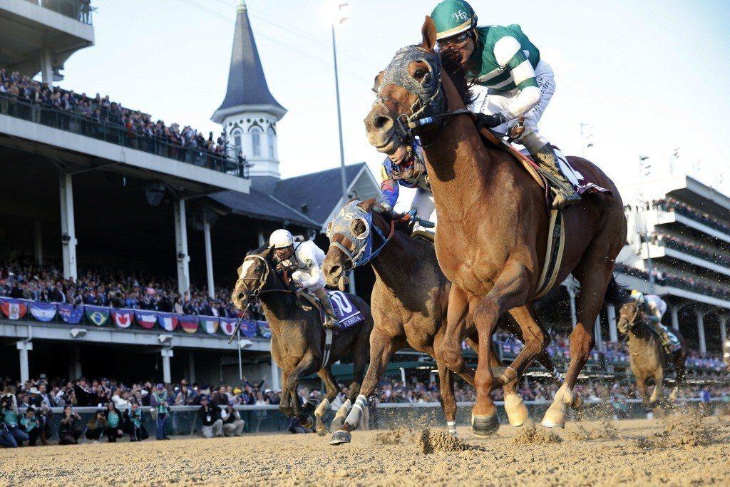 圖為美國育馬者杯賽馬活動。 圖/路透社