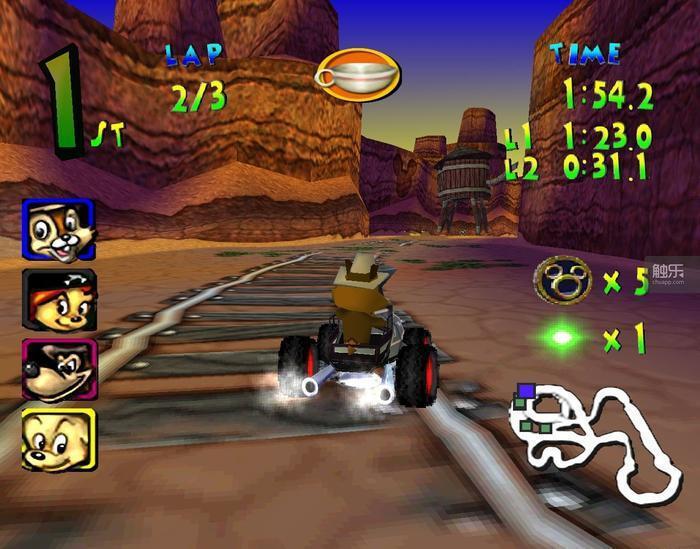 當時他們玩的「開車」遊戲可能是《迪士尼主題公園賽車》——這是我根據外孫的描述推理...