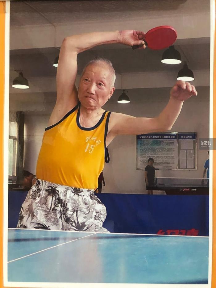 楊炳林自認球技中等,目前的最好成績是省老年乒乓球比賽第三名。
