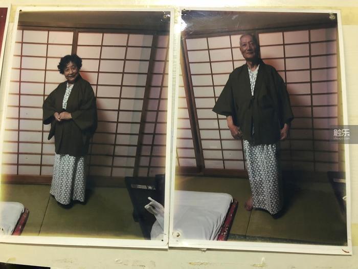出遊日本時,老兩口還換上了當地特色的浴衣和羽織。