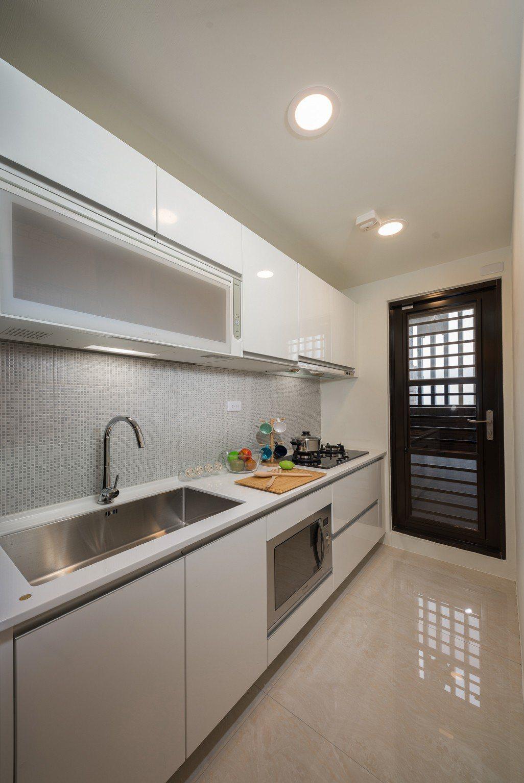櫻花整體廚房 大戶規格。圖片提供/利富建設